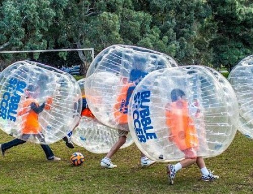 BUBBLE SPORTS HAVE ARRIVED IN VICTORIA!