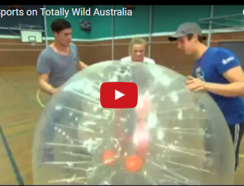 BUBBLE SPORTS WITH TOTALLY WILD!
